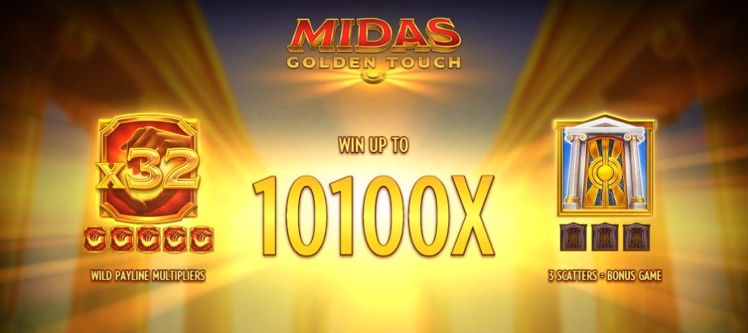 Играть бесплатно Midas Golden Touch