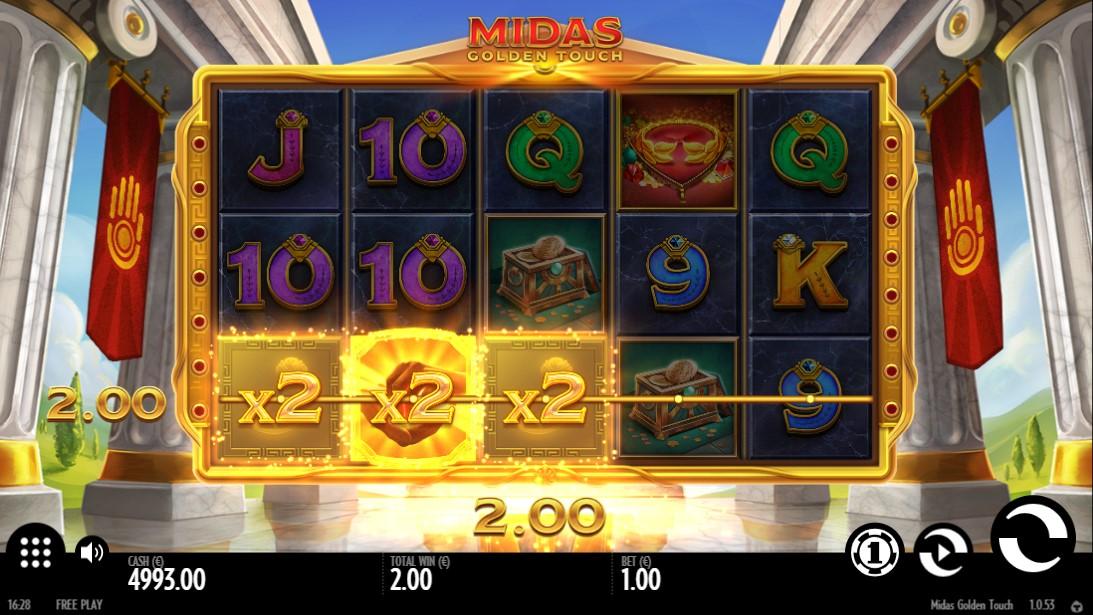 Играть Midas Golden Touch онлайн