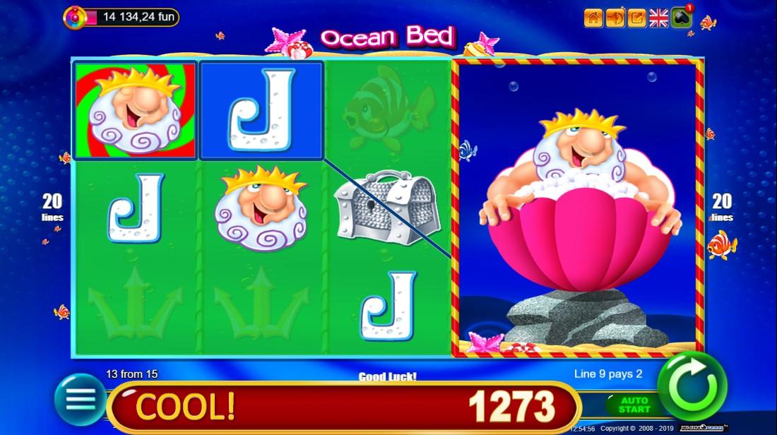 Слот Ocean Bed играть
