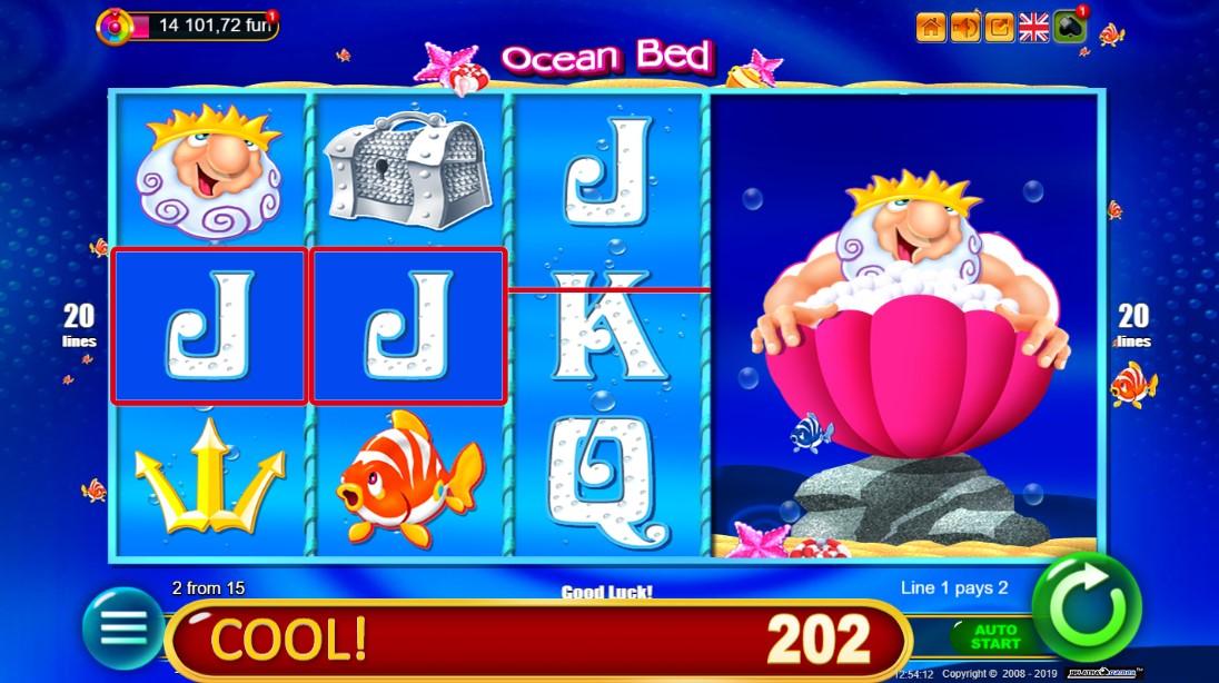 Онлайн слот Ocean Bed
