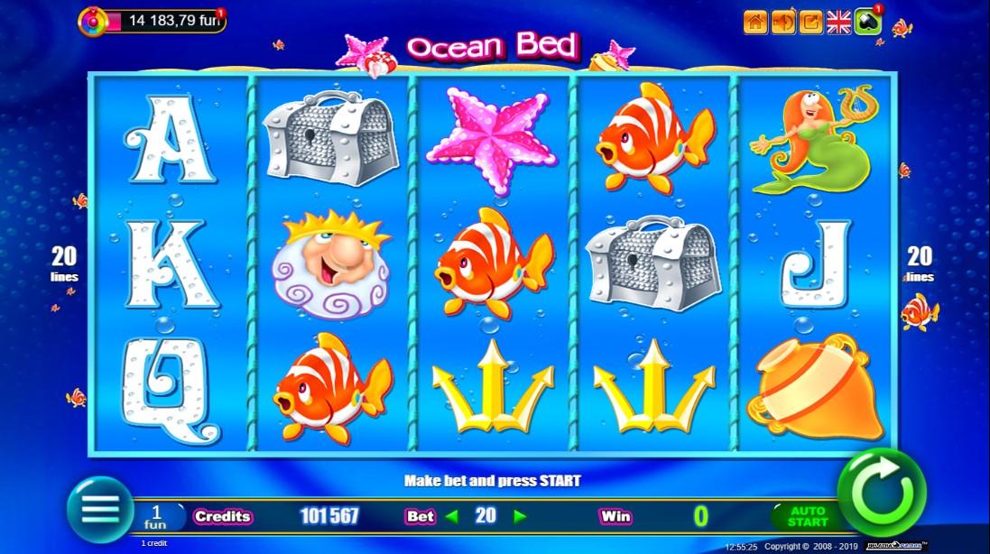 Ocean Bed слот играть бесплатно