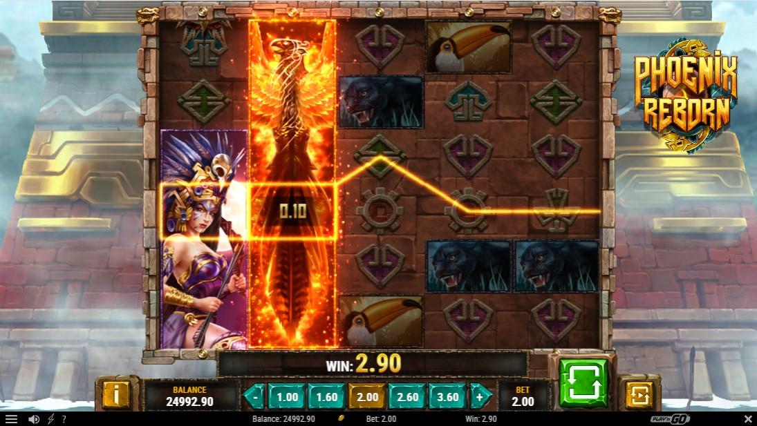 Бесплатный игровой автомат Phoenix Reborn