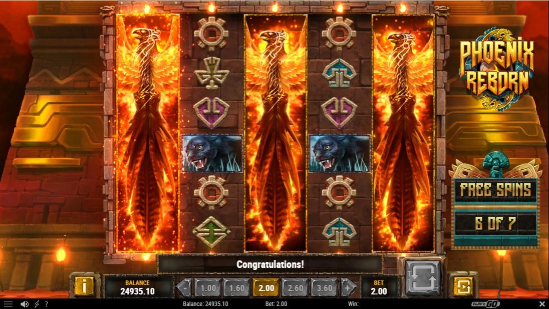Слот онлайн Phoenix Reborn