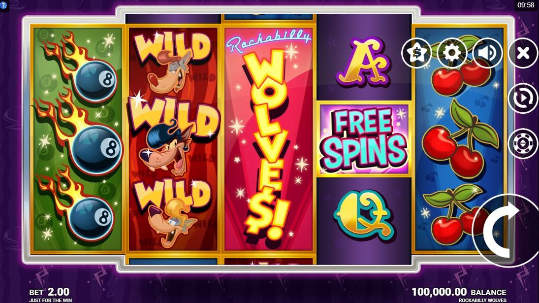 Бесплатный игровой автомат Rockabilly Wolves