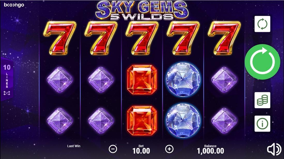 Слот Sky Gems: 5 Wilds играть