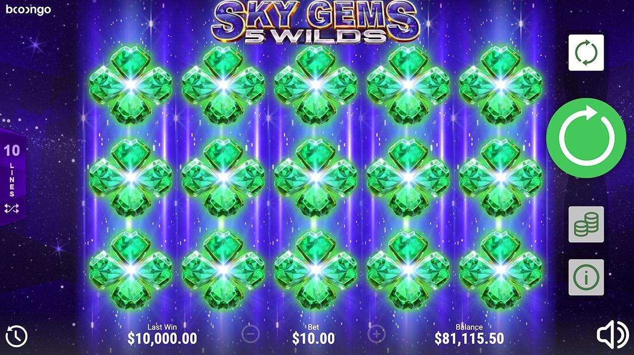 Sky Gems: 5 Wilds игровой автомат
