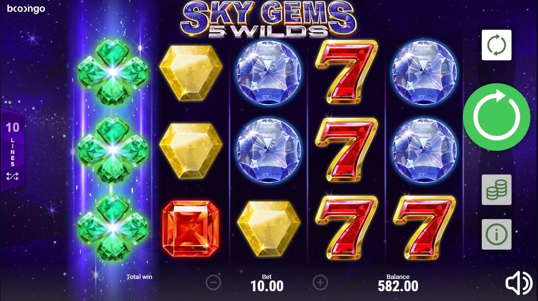Игровой автомат Sky Gems: 5 Wilds