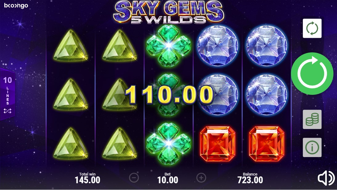 Бесплатный слот Sky Gems: 5 Wilds