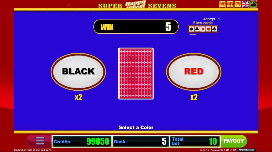 Игровой автомат Super Sevens Happy Wheel