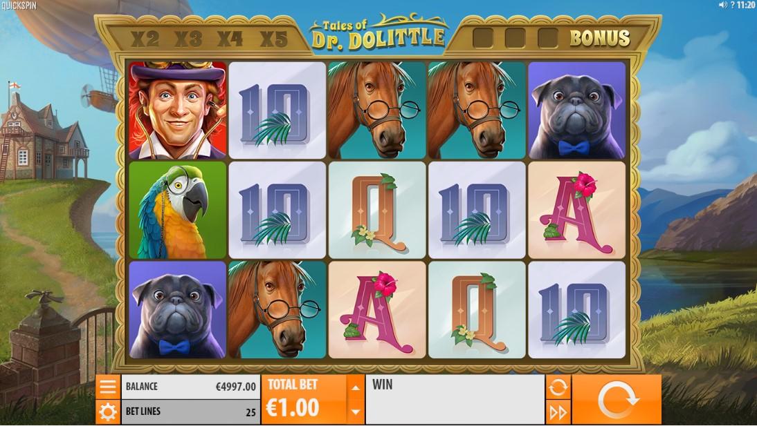 Tales of Dr Dolittle игровой автомат