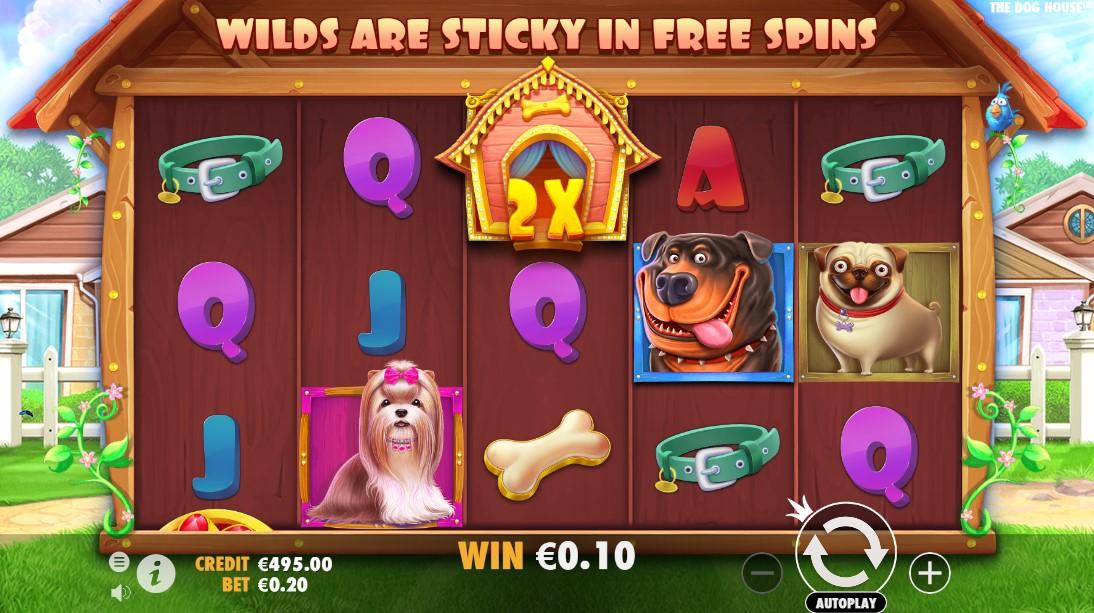 The Dog House бесплатный игровой автомат