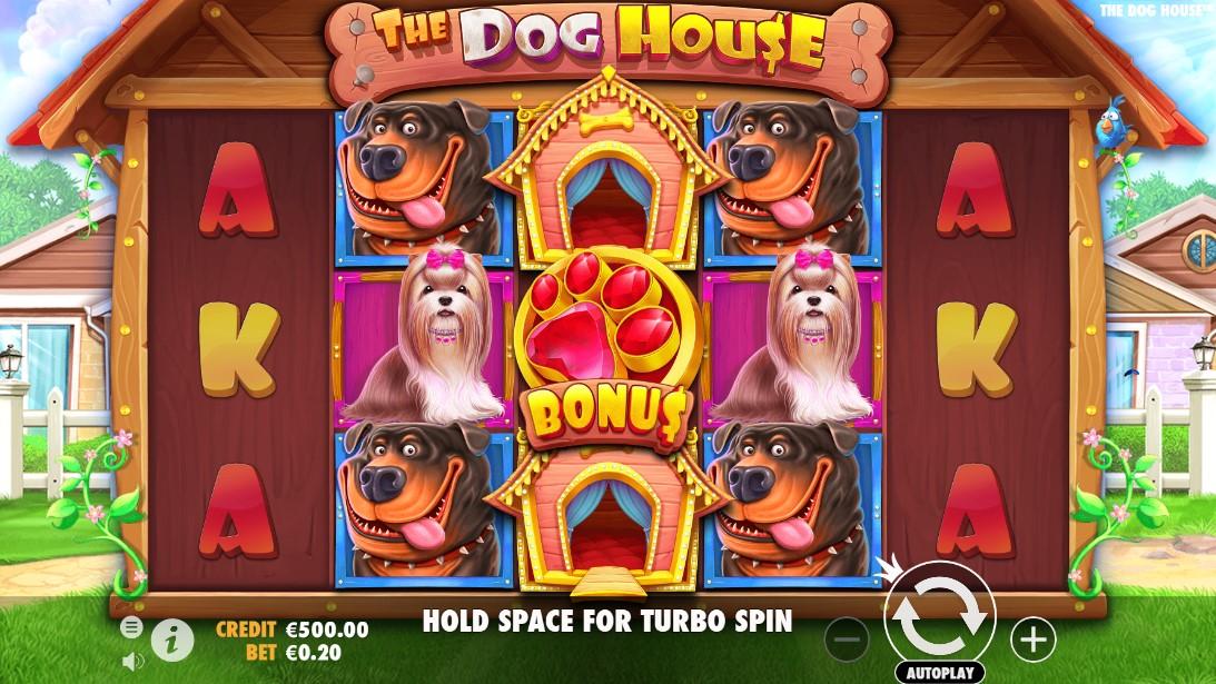 Слот The Dog House играть