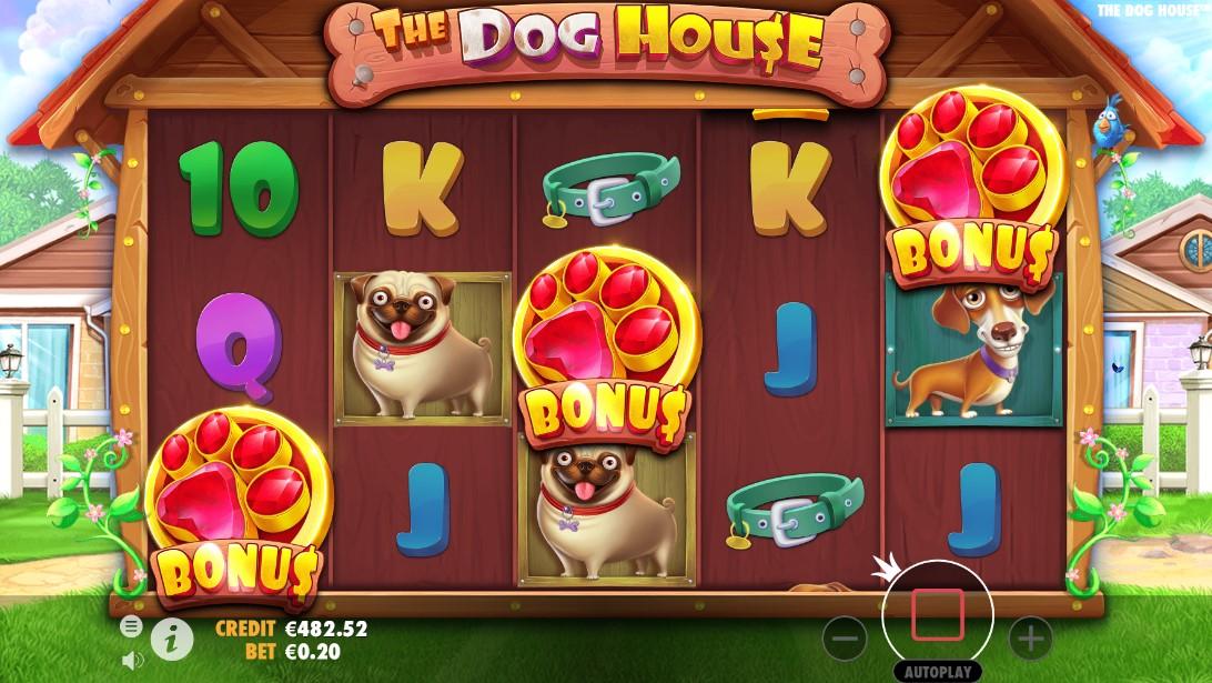 Бесплатный слот The Dog House