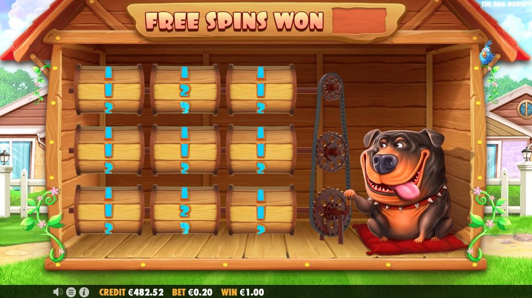 Слот The Dog House играть бесплатно