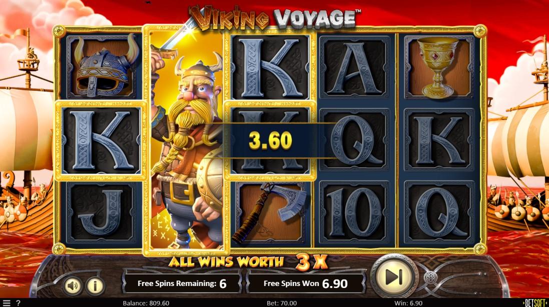 Играть бесплатно Viking Voyage