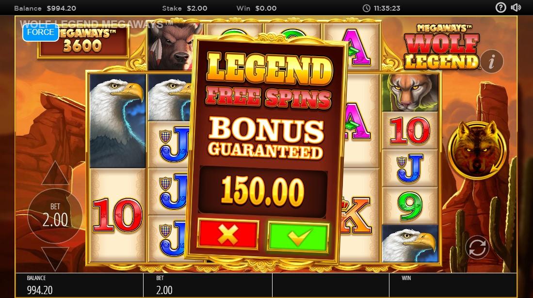 Wolf Legend Megaways играть бесплатно