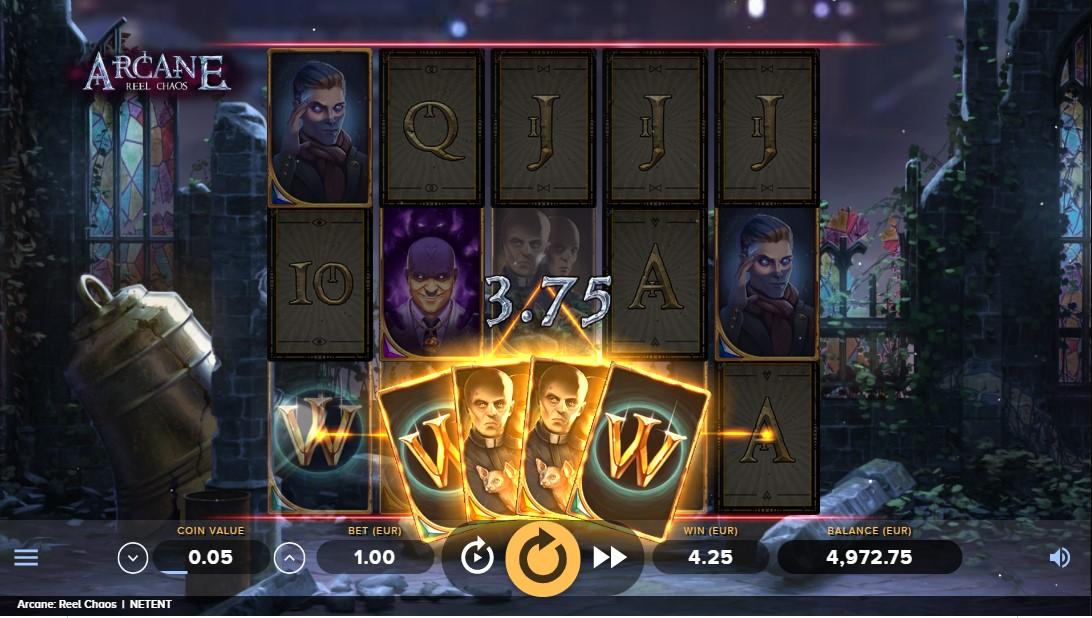 Игровой автомат Arcane Reel Chaos