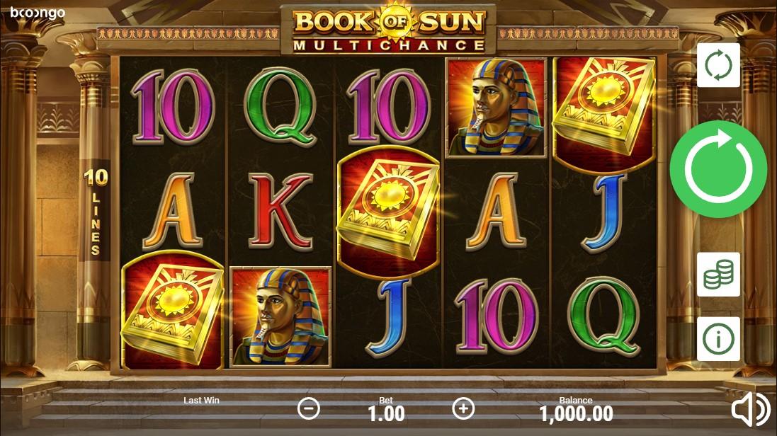 Играть бесплатно Book of Sun: Multichance