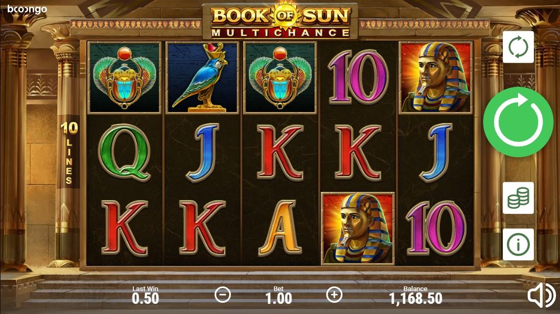 Слот Book of Sun: Multichance играть