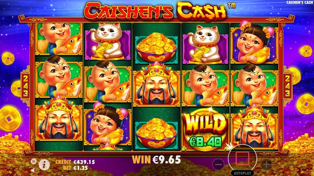 Игровой автомат Caishen's Cash