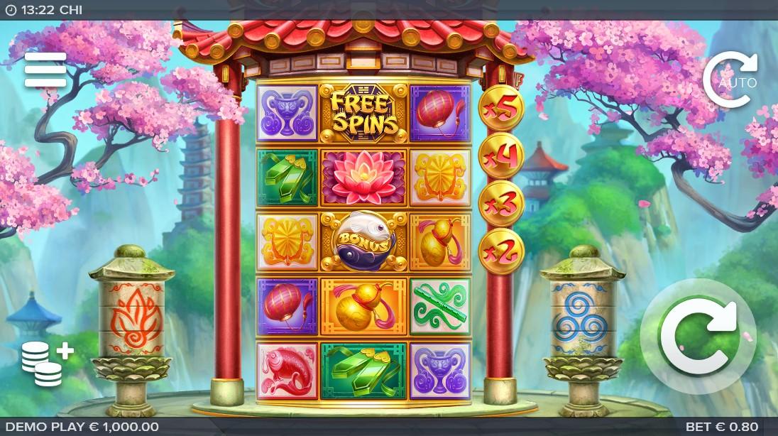 Бесплатный игровой автомат Chi
