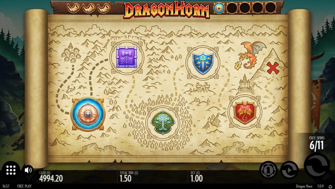 Онлайн слот Dragon Horn