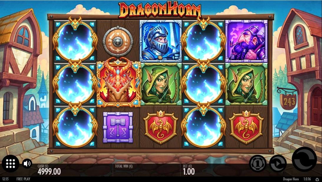 Бесплатный игровой автомат Dragon Horn
