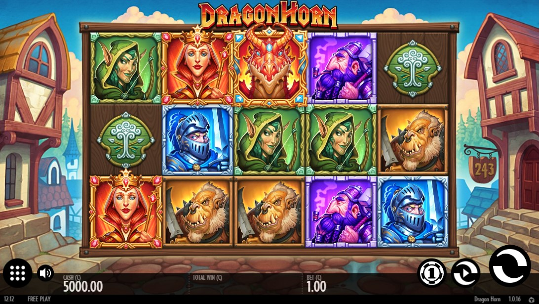 Бесплатный слот Dragon Horn