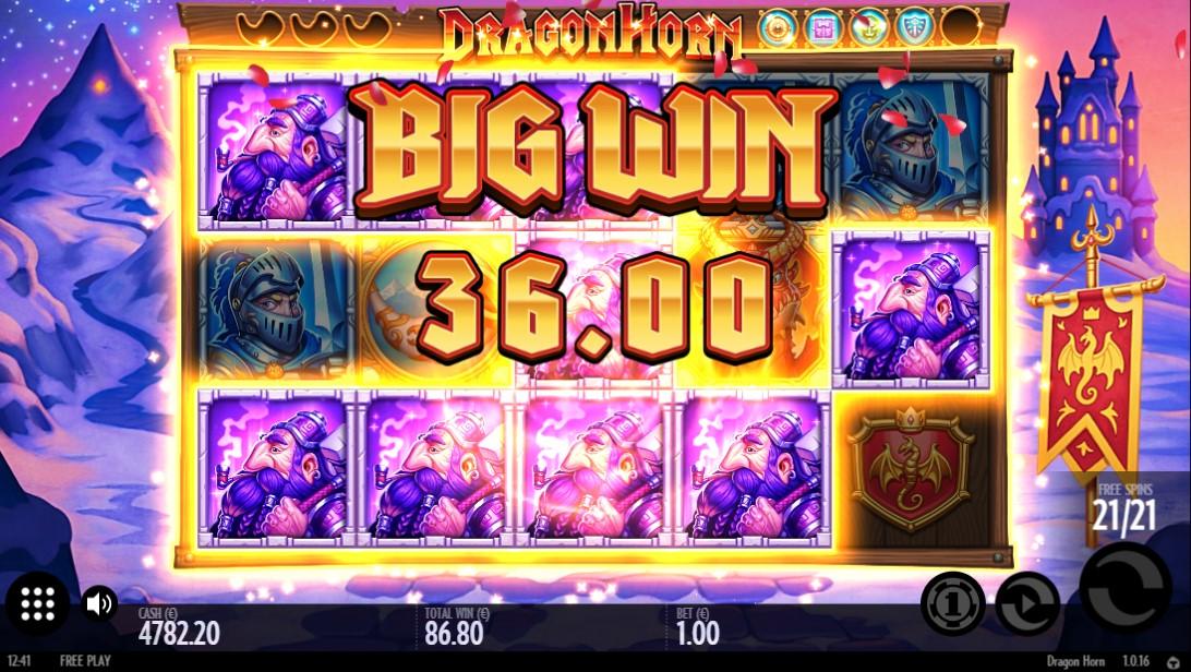 Dragon Horn игровой автомат