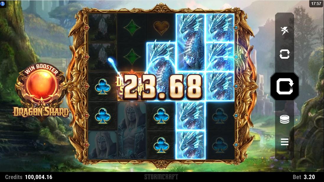 Бесплатный слот Dragon Shard