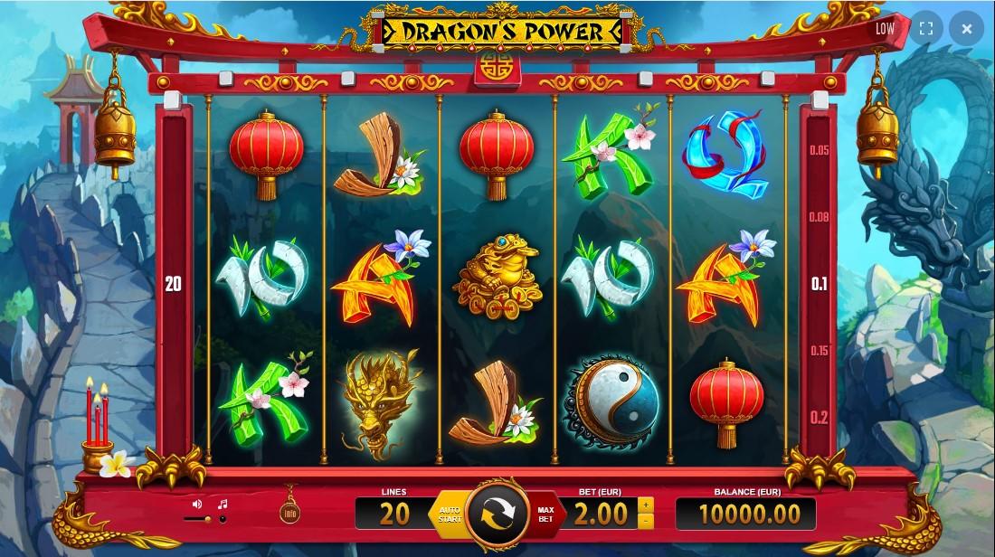 Игровой автомат Dragon's Power