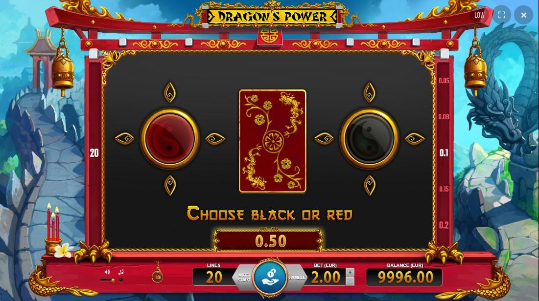 Онлайн слот Dragon's Power