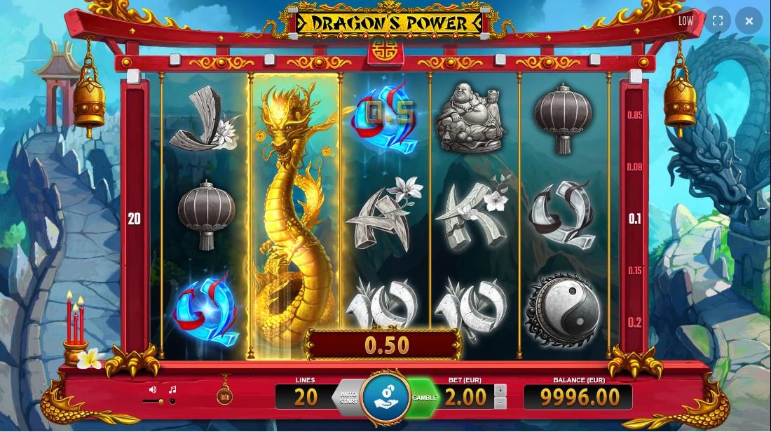 Играть бесплатно Dragon's Power