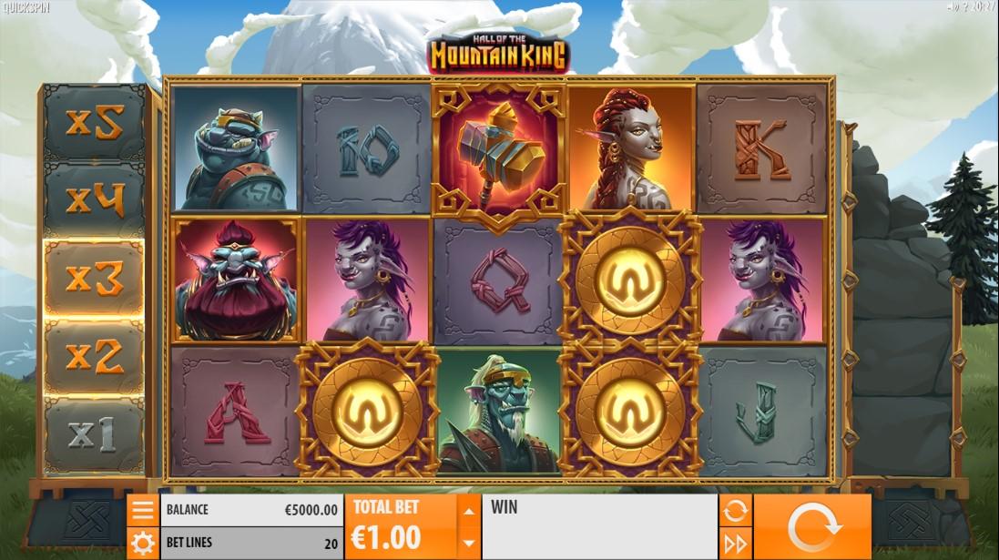 Hall of the Mountain King онлайн слот