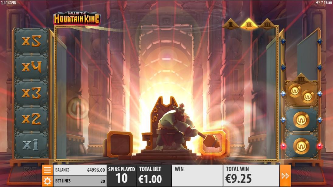 Онлайн слот Hall of the Mountain King