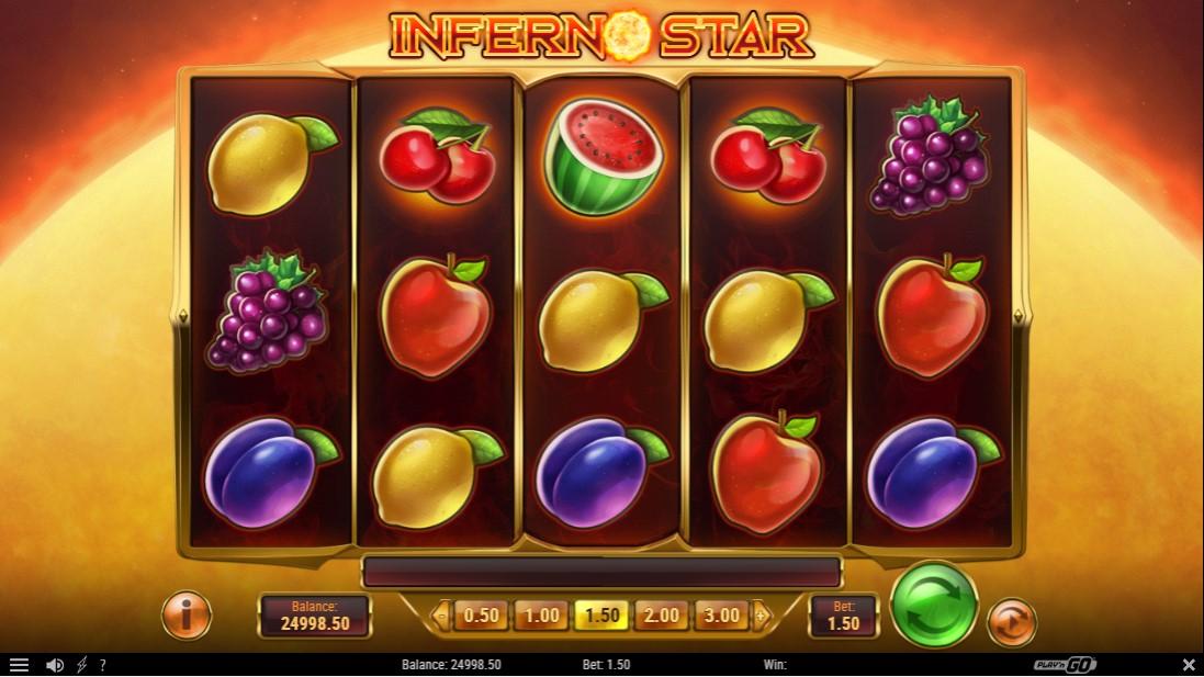 Бесплатный слот Inferno Star