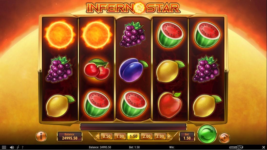 Бесплатный игровой автомат Inferno Star