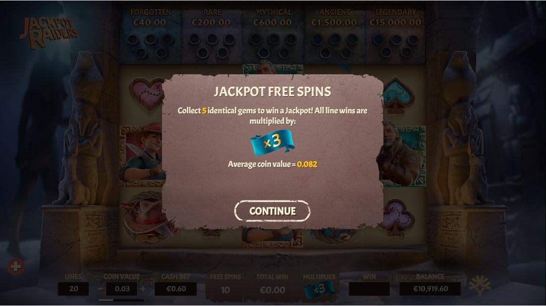Jackpot Raiders слот играть
