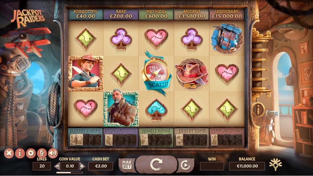 Jackpot Raiders играть онлайн