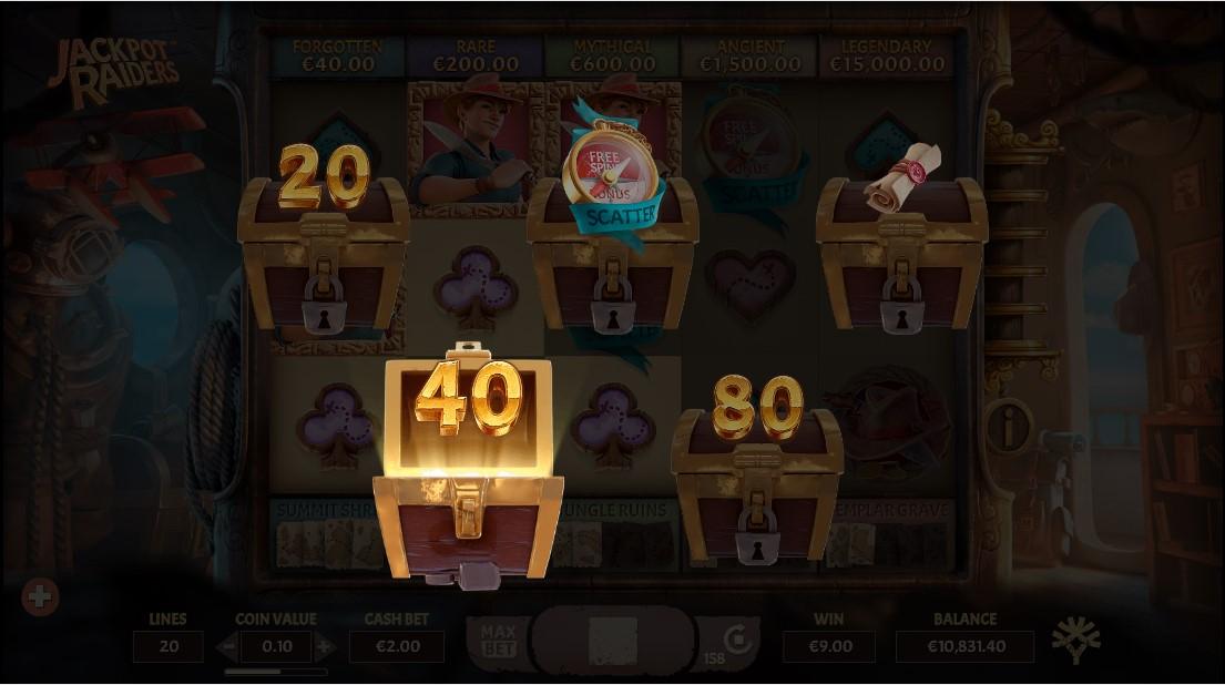 Бесплатный игровой автомат Jackpot Raiders