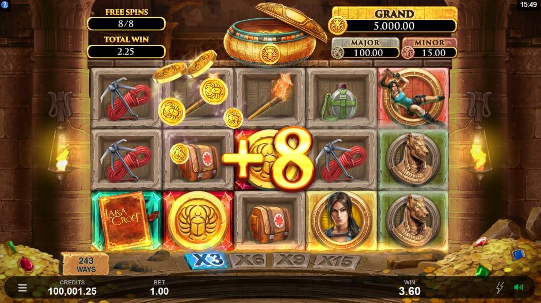 Игровой автомат Lara Croft Temples and Tombs