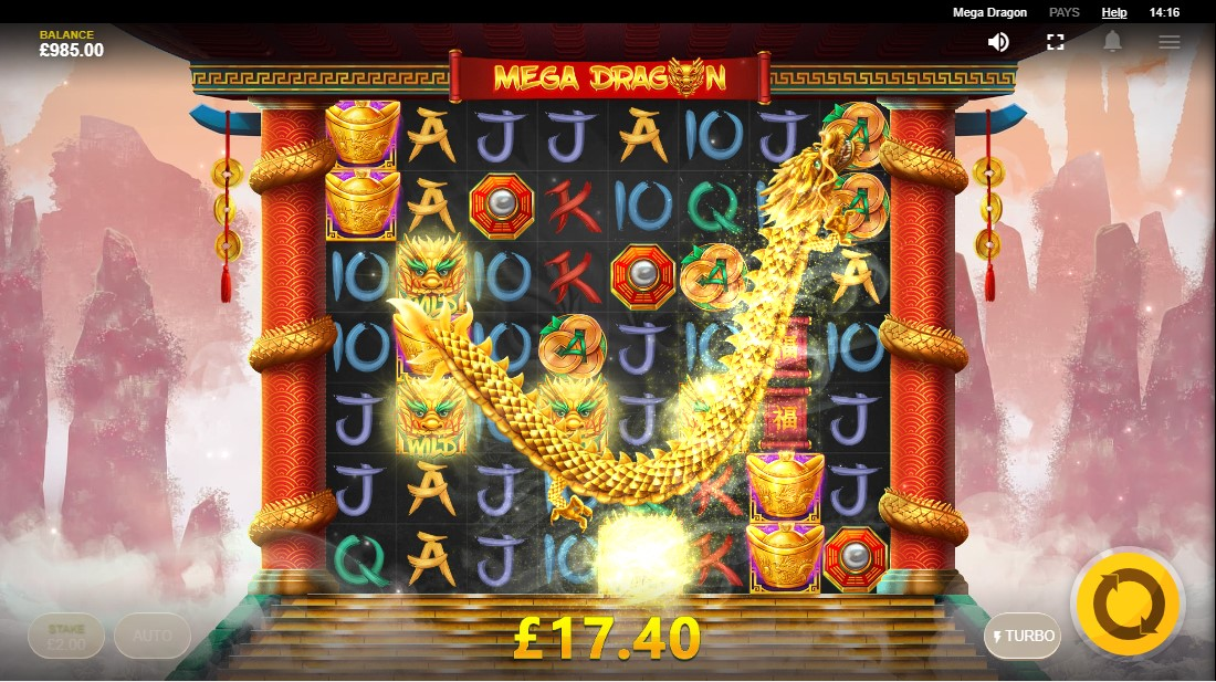 Mega Dragon игровой автомат