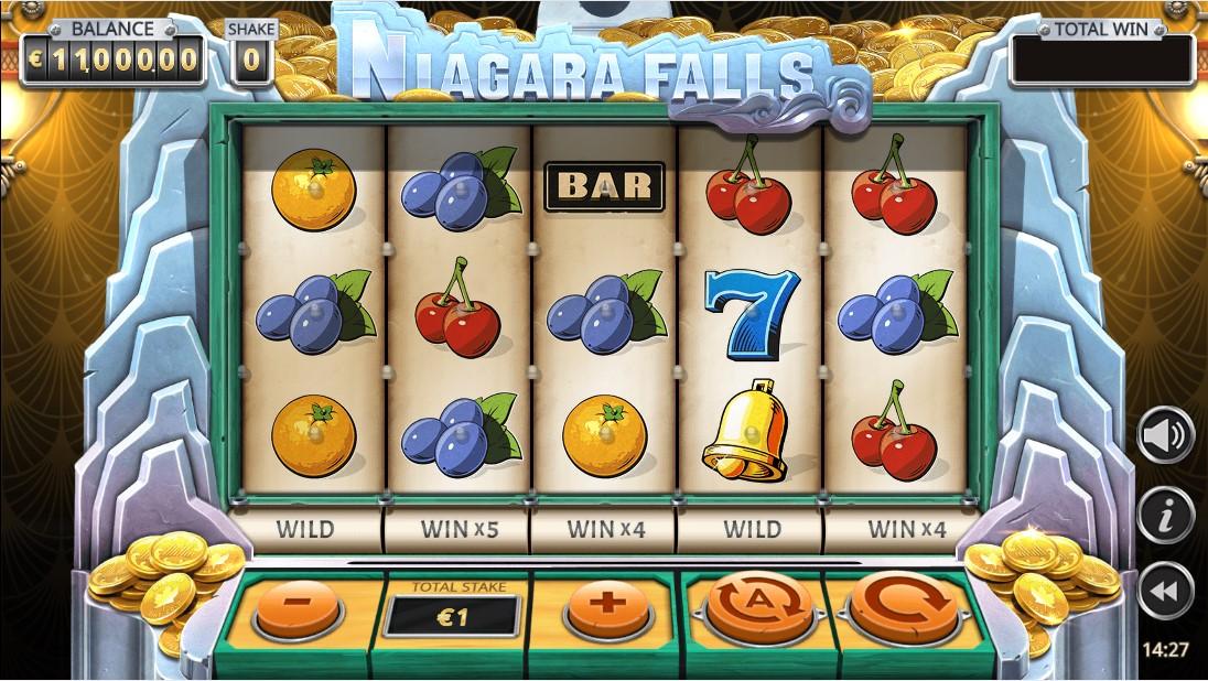 Бесплатный игровой автомат Niagara Falls