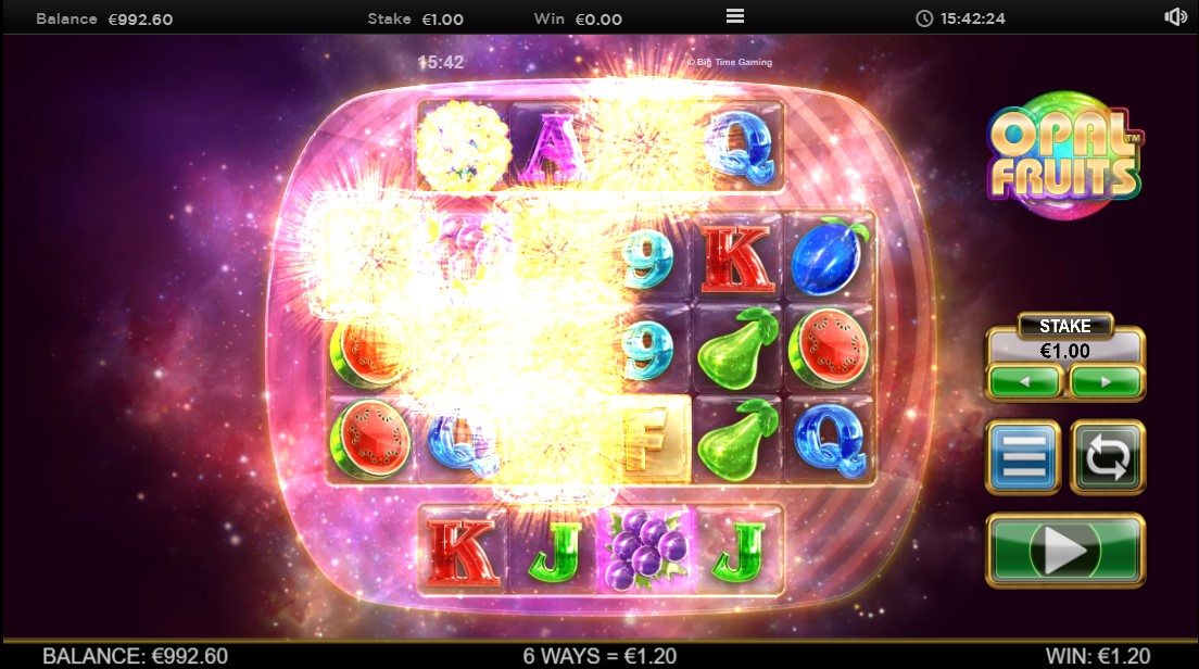 Играть бесплатно Opal Fruits