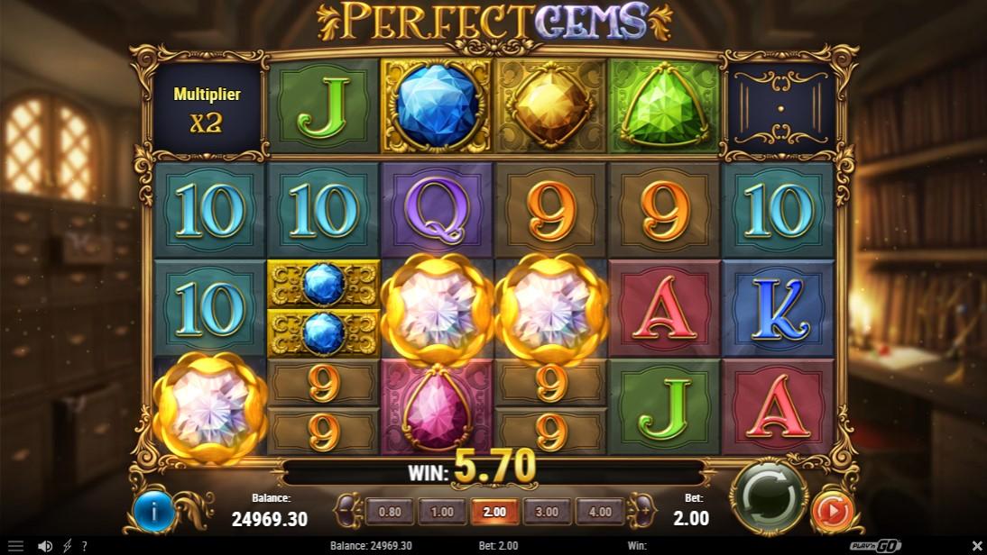 Бесплатный слот Perfect Gems