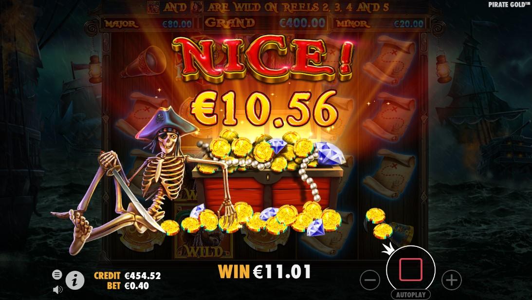 Играть бесплатно Pirate Gold