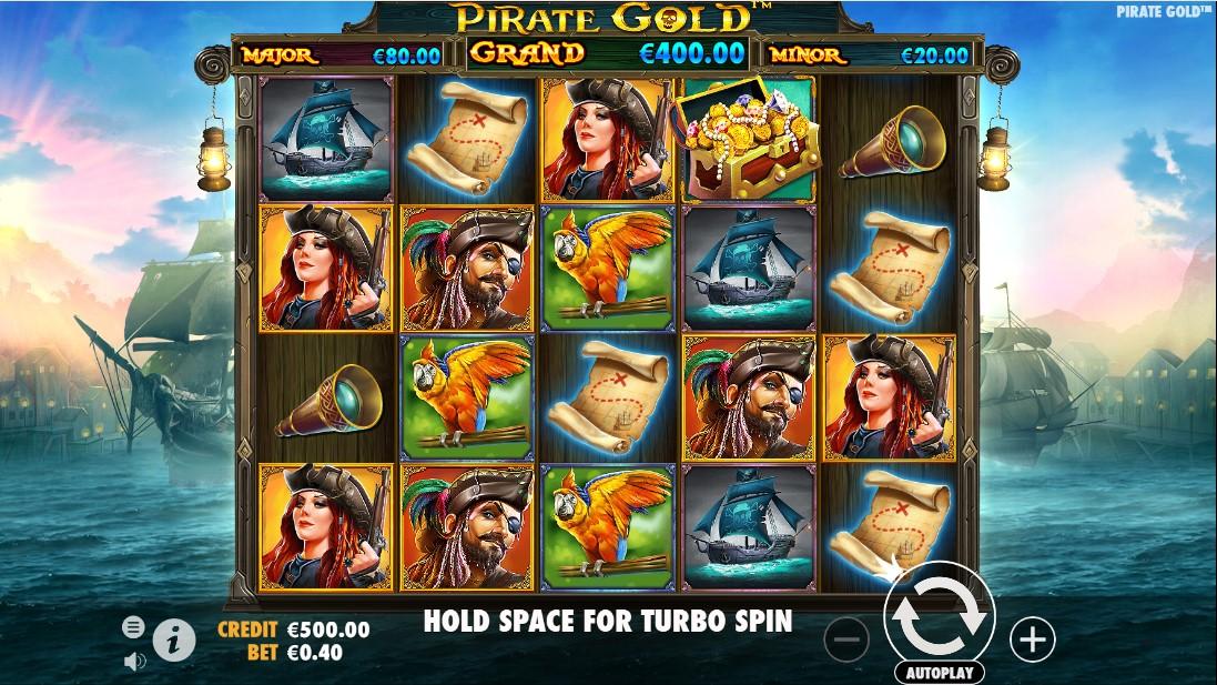 Pirate Gold игровой автомат