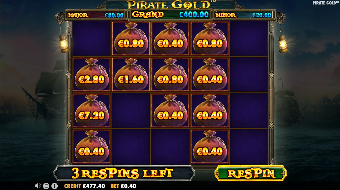 Бесплатный слот Pirate Gold