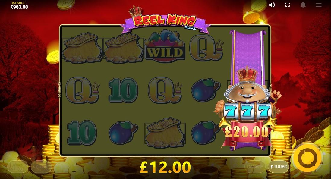Игровой автомат Reel King Mega
