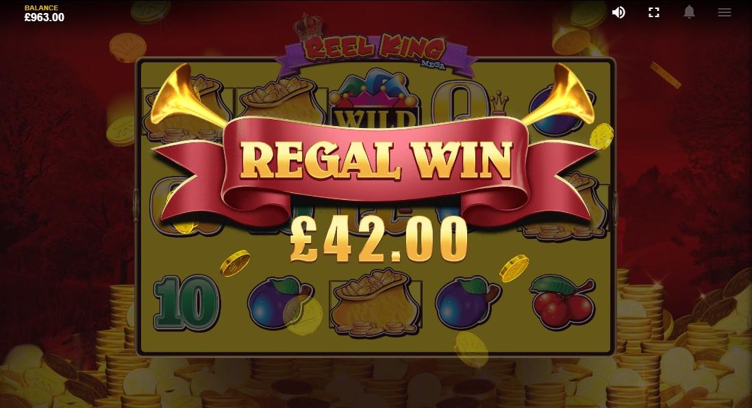 Онлайн слот Reel King Mega
